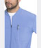 Photograph of EDS Essentials Men's Men's Zip Front Warm-Up Jacket Blue DK320-CIPS