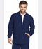 Photograph of Dickies EDS Essentials Men's Zip Front Warm-Up Jacket in Navy