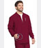 Photograph of Every Day EDS Essentials Men's Men's Zip Front Warm-Up Jacket Red DK320-WNPS