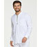 Photograph of EDS Essentials Men's Men's Zip Front Warm-Up Jacket White DK320-WTPS