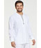 Photograph of Dickies Every Day EDS Essentials Men's Zip Front Warm-Up Jacket in White