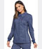 Photograph of Advance Women's Snap Front Jacket Blue DK325-NAVT