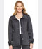 Photograph of Dickies Advance Two Tone Twist Women's Snap Front Jacket Black DK325-ONXT
