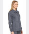 Photograph of Advance Women's Snap Front Jacket Pewter Twist DK325-PWTT