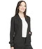 Photograph of Dynamix Women's Zip Front Warm-up Jacket Black DK330-BLK