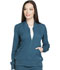 Photograph of Dickies Dynamix Women's Zip Front Warm-up Jacket Blue DK330-CAR