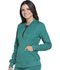 Photograph of Dickies Dynamix Zip Front Warm-up Jacket in Hunter Green