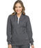 Photograph of Dynamix Women's Zip Front Warm-up Jacket Gray DK330-PWT