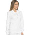 Photograph of Dynamix Women's Zip Front Warm-up Jacket White DK330-WHT