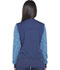 Photograph of Dickies Dynamix Women Zip Front Warm-up Jacket Blue DK340-NAV