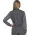 Photograph of Dynamix Women's Zip Front Warm-up Jacket Gray DK340-PWT