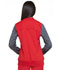 Photograph of Dickies Dynamix Women Zip Front Warm-up Jacket Red DK350-RED