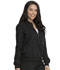 Photograph of Dickies Balance Women's Zip Front Jacket Black DK365-BLK