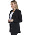 Photograph of Advance Women's 28 Notched Lapel Lab Coat Black DK400-BLK