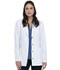 "Photograph of Dickies Advance 28"" Notched Lapel Lab Coat in White"