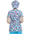 Photograph of Dickies Dickies Prints Bouffant Scrub Hat in Dot's My Line
