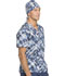 Photograph of Dickies Prints Unisex Scrub Hat Breaking Plaid Royal DK501-BGRY