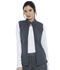 Photograph of Dickies Dynamix Women Quilted Zip Front Vest Gray DK510-PWT