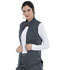 Photograph of Dickies Dynamix Women's Quilted Zip Front Vest Gray DK510-PWT