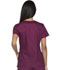 Photograph of EDS Signature Women's Button Front V-Neck Top Red DK605-WIWZ