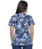 Photograph of Dickies Dynamix Women Mock Wrap Top Underwater World DK608-UNWR