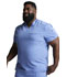 Photograph of Dickies Dynamix Men's V-Neck Top in Ciel Blue