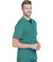 Photograph of Dickies Dynamix Men's Men's V-Neck Top Green DK610-HUN