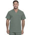 Photograph of Dickies Dynamix Men Men's V-Neck Top Green DK610-OLV