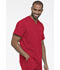 Photograph of Dickies Dynamix Men's V-Neck Top in Red