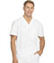 Photograph of Dickies Dynamix Men Men's V-Neck Top White DK610-WHT