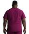 Photograph of Dickies Dynamix Men's V-Neck Top in Wine