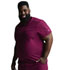 Photograph of Dickies Dickies Dynamix Men's Tuckable V-Neck Top in Wine