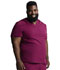 Photograph of Dickies Dickies Dynamix Men's V-Neck Top in Wine