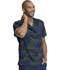 Photograph of Dickies Dickies Prints Men's V-Neck Top in Line Up