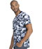 Photograph of Dickies Dynamix Men Men's V-Neck Top Stone Cold Camo Pewter DK611-STPW