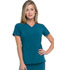 Photograph of Dickies Every Day EDS Essentials V-Neck Top in Caribbean Blue