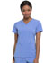 Photograph of Every Day EDS Essentials Women's V-Neck Top Blue DK615-CIPS