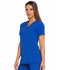 Photograph of Dickies EDS Essentials Women's V-Neck Top Blue DK615-GAB