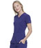 Photograph of Every Day EDS Essentials Women's V-Neck Top Purple DK615-GRP