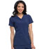 Photograph of Every Day EDS Essentials Women V-Neck Top Blue DK615-NYPS