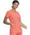 Photograph of Dickies Every Day EDS Essentials V-Neck Top in Papaya Punch