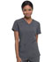 Photograph of Every Day EDS Essentials Women V-Neck Top Gray DK615-PWPS