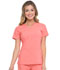 Photograph of EDS Essentials Women's V-Neck Top Red DK615-RACO