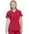 Photograph of Every Day EDS Essentials Women's V-Neck Top Red DK615-RED