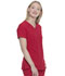 Photograph of Dickies Every Day EDS Essentials V-Neck Top in Red