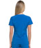 Photograph of EDS Essentials Women's V-Neck Top Blue DK615-RYPS