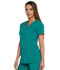 Photograph of Dickies Every Day EDS Essentials V-Neck Top in Teal Blue