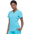 Photograph of Dickies Every Day EDS Essentials V-Neck Top in Turquoise