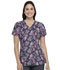Photograph of Dickies Prints Women's V-Neck Top Crazy For Paisley DK616-CRPY