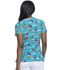 Photograph of Dickies Prints Women V-Neck Print Top It Was Owl A Dream DK616-ITOL